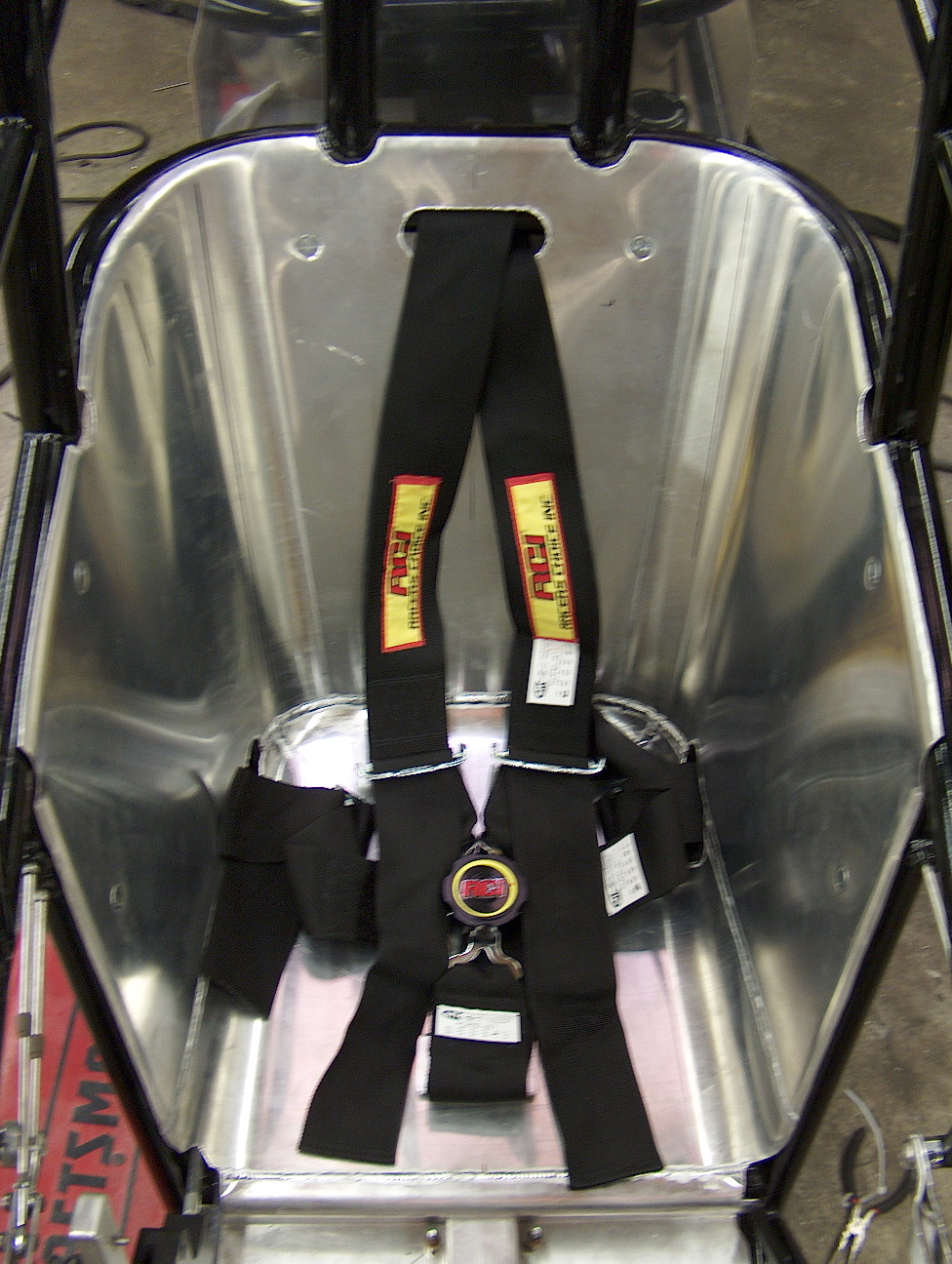 Custom Dragster Seat