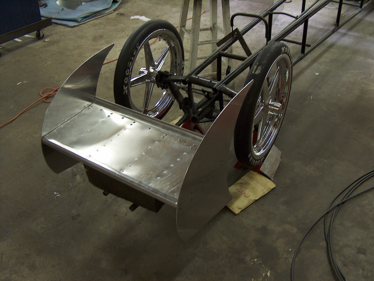 Front Wing for Dragster