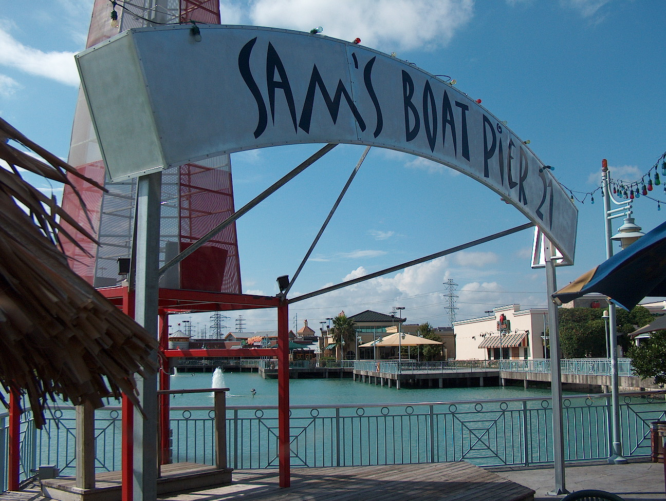 Sam's Boat Sign